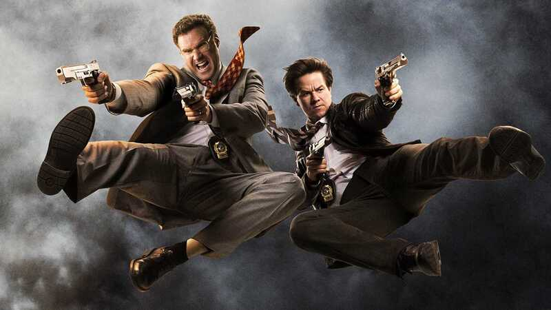 Will Ferrell and Mark Whalberg in Adam McKay's comedy The Other Guys.